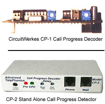 CircuitWerkes Call Progress Decoders